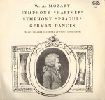 "Mozart W. A. Symphony ""Prague"", Symphony ""Haffner"". German Dances"