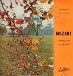 Mozart W. A. Three sonatas for violin and  piano